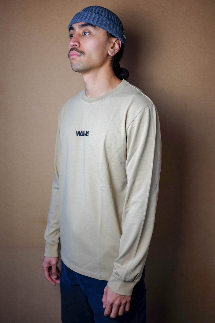 Basic Logo Long Sleeve - Oat