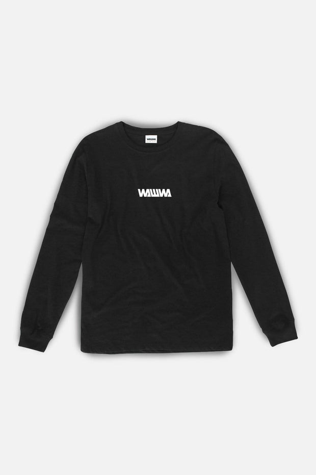 Basic Logo Longsleeve T-Shirt Black