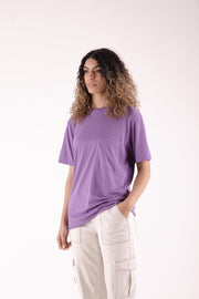 Recycled Pocket T-Shirt Lilac