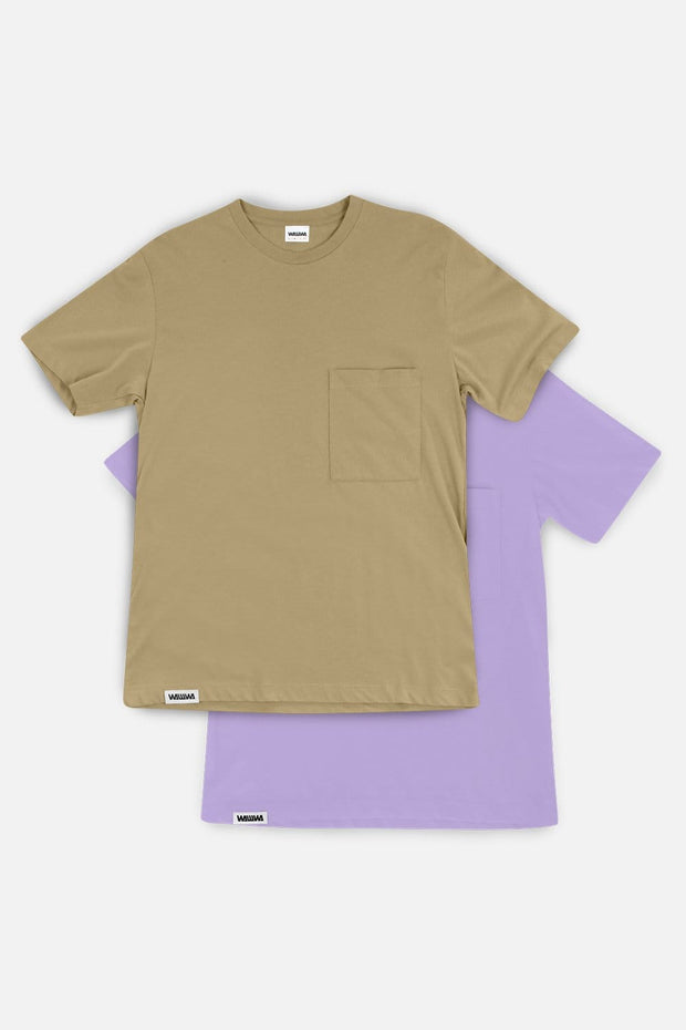 Recycled Pocket Tee 2 Pack