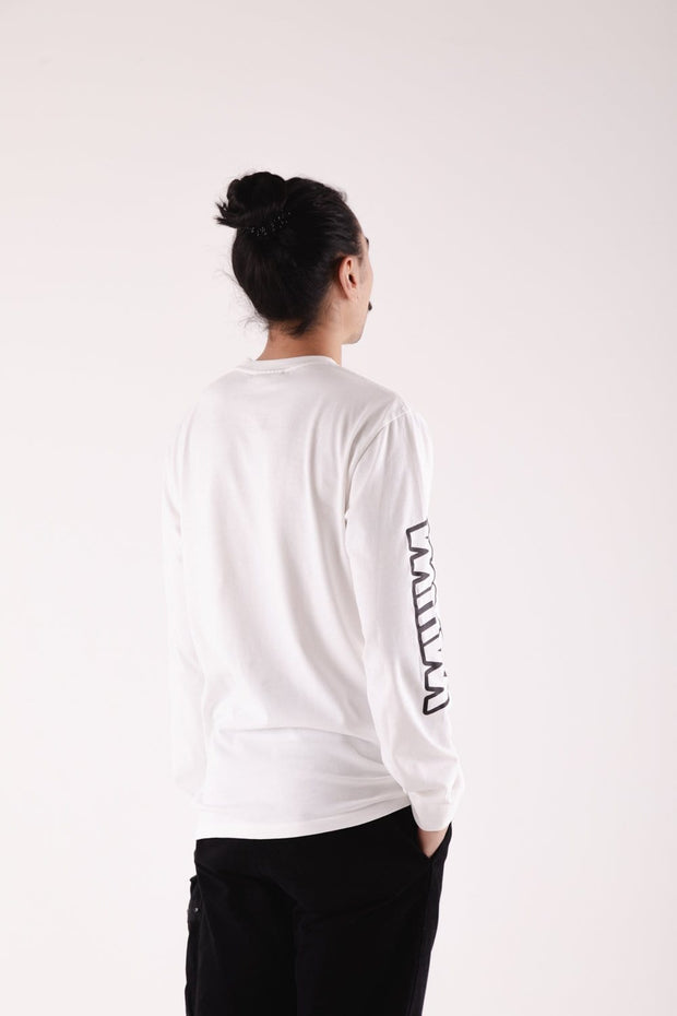 Sleeve Longsleeve T-Shirt White