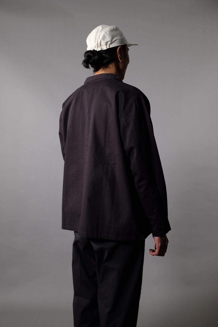 Drake Overshirt - Black