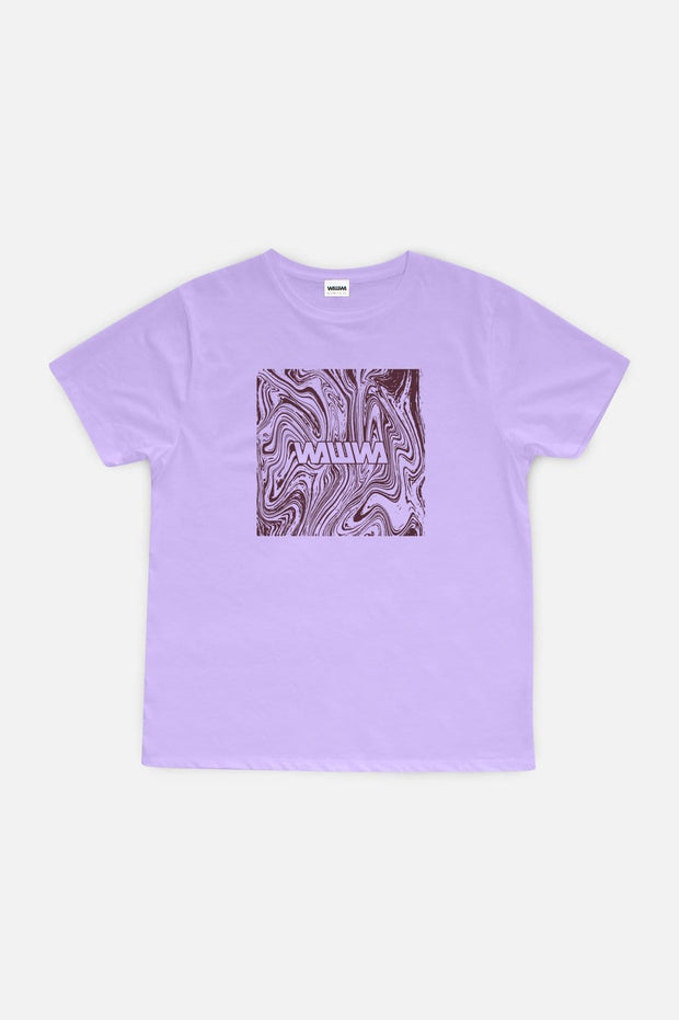 Marble Logo T-Shirt Lilac