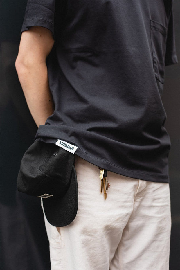 Recycled Black Pocket T-Shirt