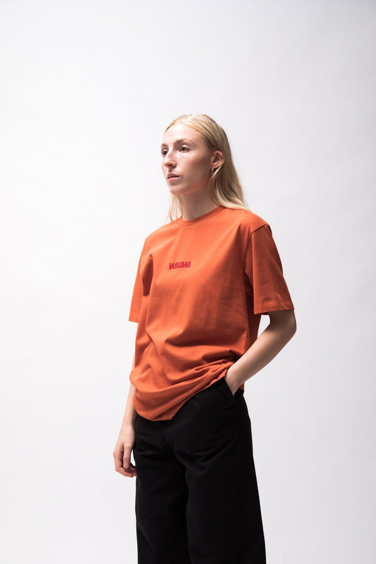 Basic Logo T-Shirt - Rust