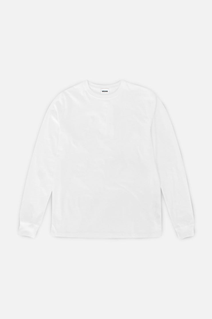 Organic Long Sleeve T-Shirt - White