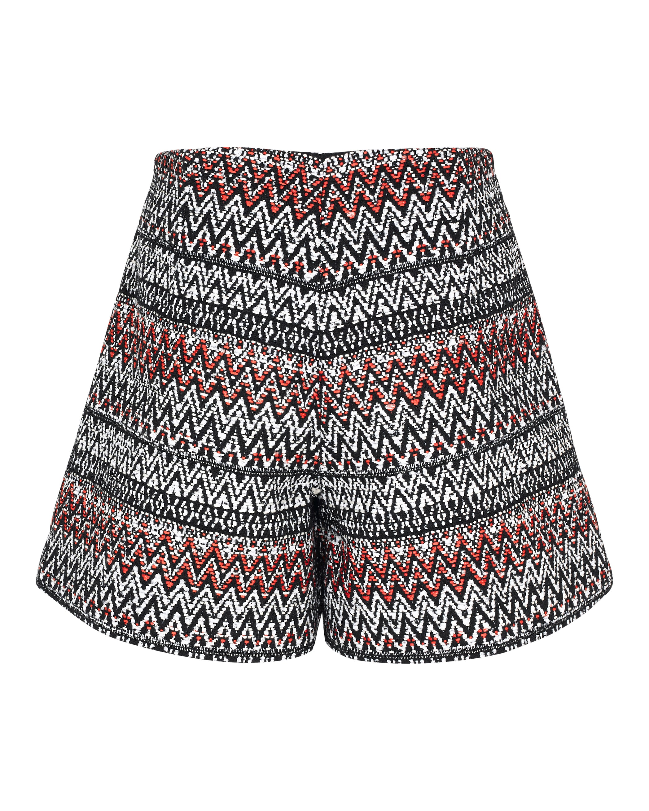 Pleat Shorts - Red