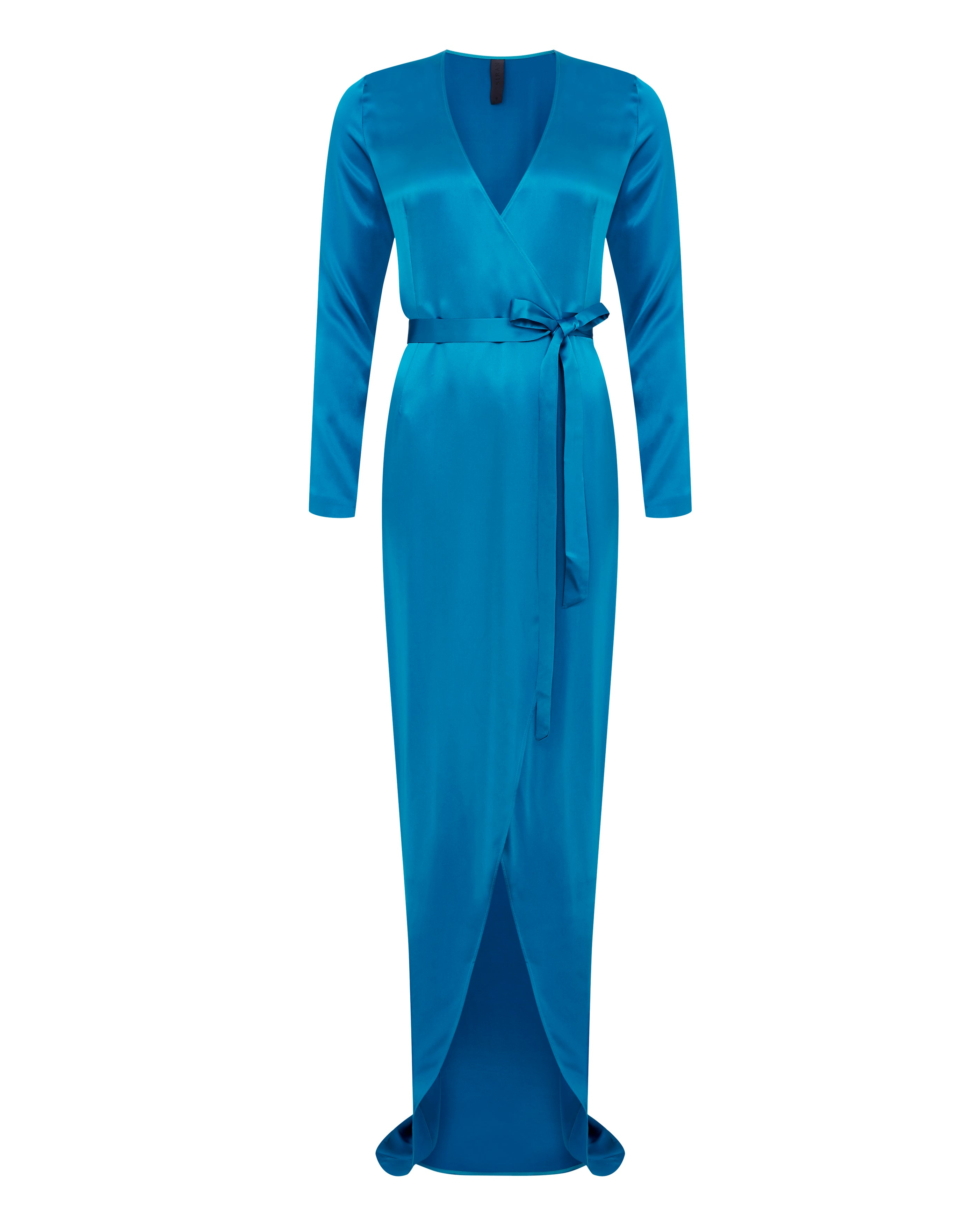 Wrap Dress - Teal Peacock