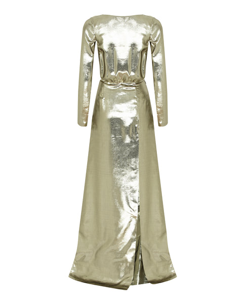 Jagger Gown - Gold