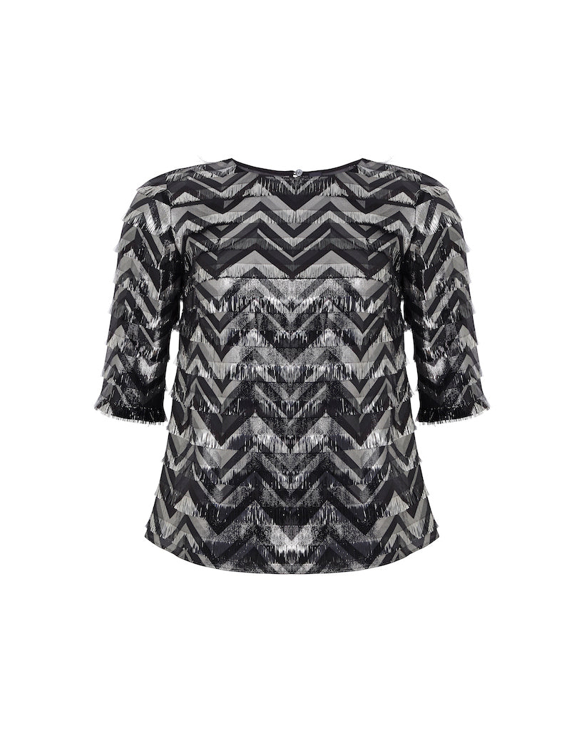 Jonie Top - Black/Silver