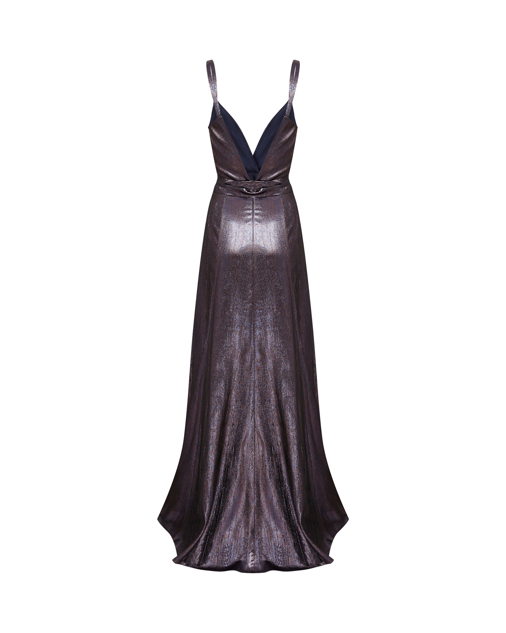 Diana Gown - Pewter / Bronze