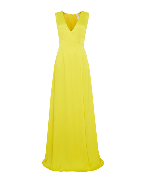 MINERVA GOWN - CANARY YELLOW