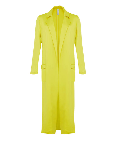 VAYA COAT - CANARY YELLOW