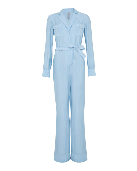 LEVANA JUMPSUIT - CLEAR WATERS