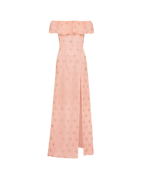 BRINKLEY GOWN - ROSE GOLD