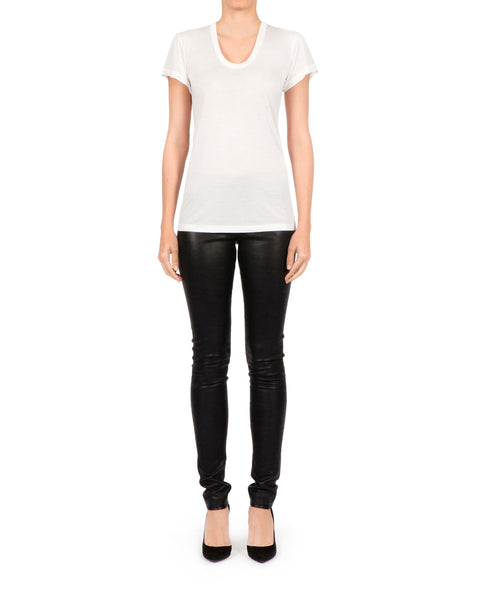 Amore T-shirt Round Neck - White