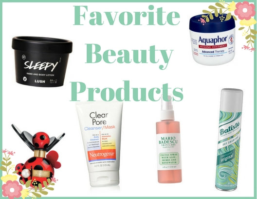 Favorite Beauty Products!
