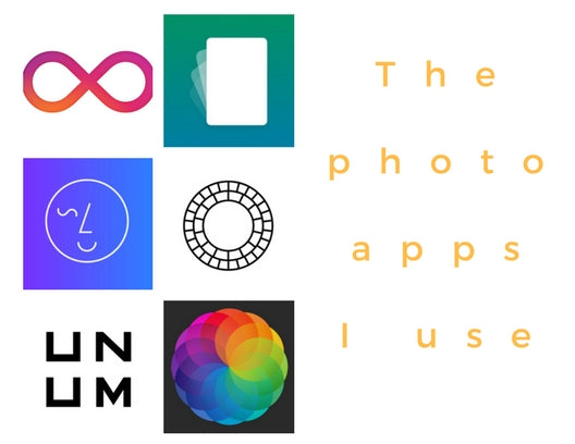 The Photo Apps I Use