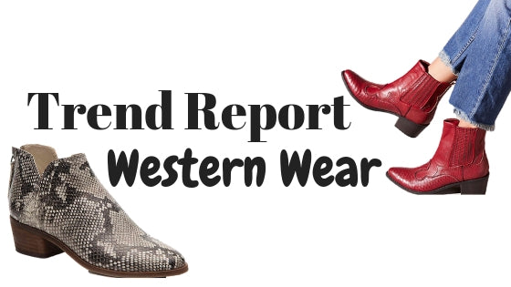 Trend Report: Western Style Boots
