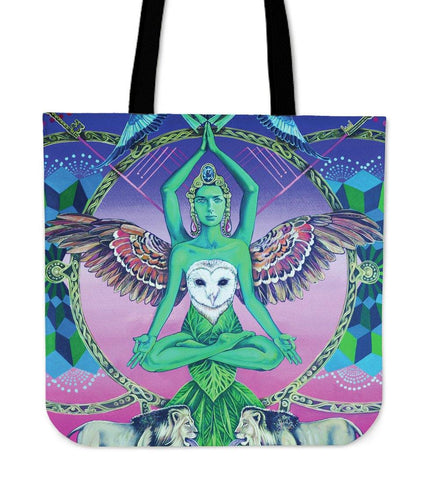 ANOTHER WORLDS SOUL LINEN TOTE BAG - TSP Top Selling Products