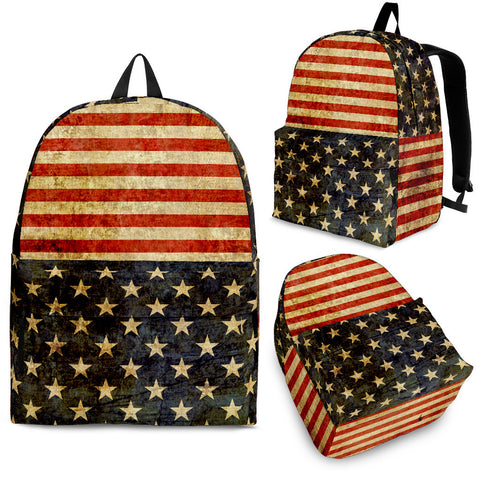 Patriotic Backpack Stars & Stripes
