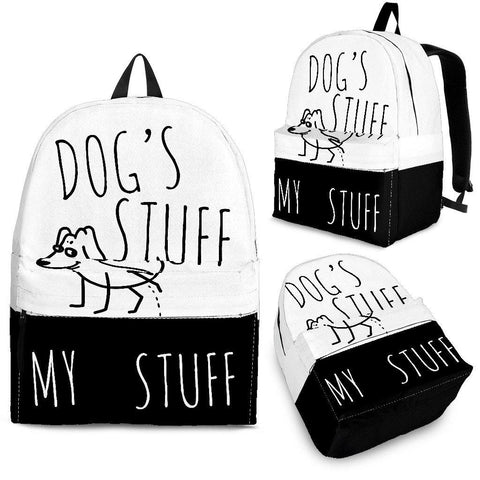 BACKPACK - DOG'S STUFF | MY STUFF - TSP Top Selling Products