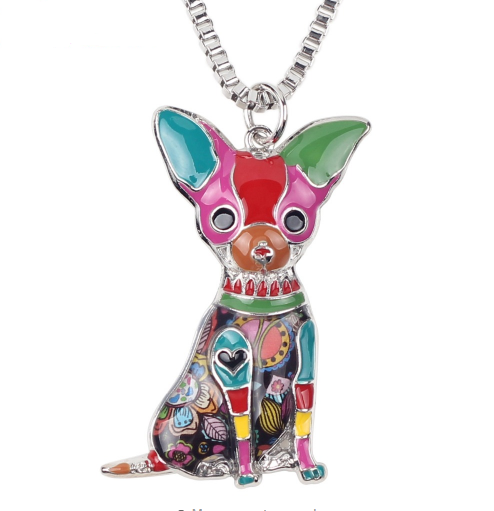 03cd5d52a CHIHUAHUA ENAMEL DOG NECKLACE – TSP Top Selling Products