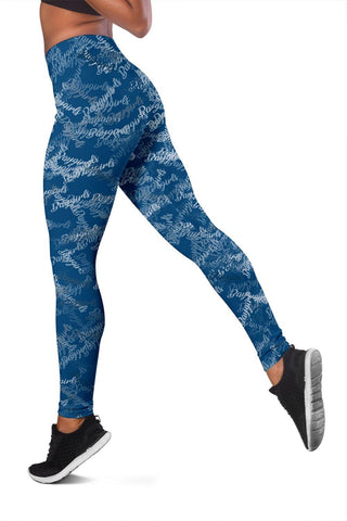 BAYGIRL LEGGINGS BLUE - TSP Top Selling Products