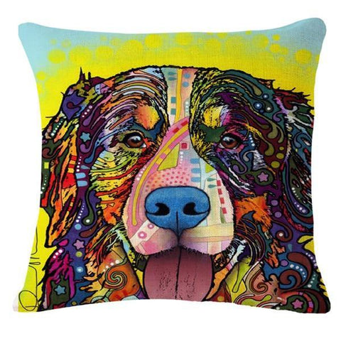 BERNESE MOUNTAIN DOG PILLOW COVER - TSP Top Selling Products