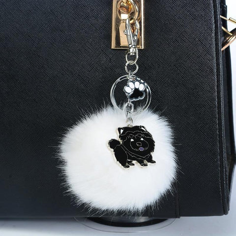 CHOW POMPOM KEYCHAIN - TSP Top Selling Products
