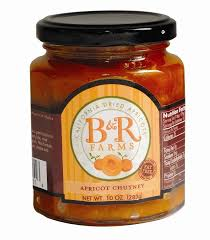B&R Apricot Chutney - The Condimented Pantry