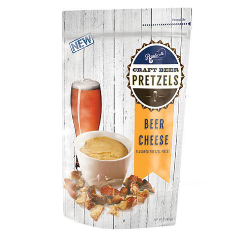 Boardwalk Foods Craft Beer Cheese Pretzel Pieces - The Condimented Pantry