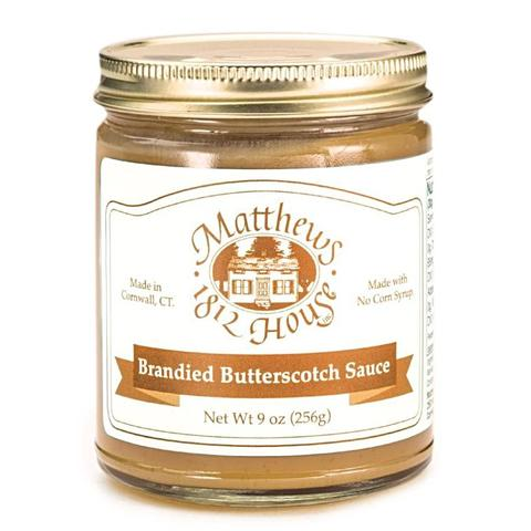 Matthews 1812 House Brandied Butterscotch Sauce - The Condimented Pantry