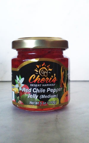 Cheri's Desert Harvest Red Chile Pepper Jelly - The Condimented Pantry