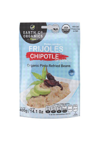 Earth Co Organics Refried Beans - Chipotle - The Condimented Pantry