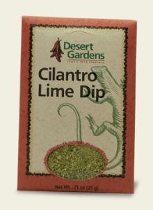 Desert Gardens Cilantro Lime Dip Mix - The Condimented Pantry