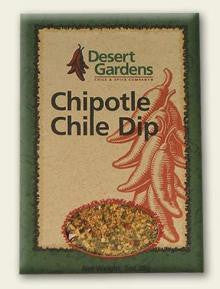 Desert Gardens Chipotle Chile Dip Mix - The Condimented Pantry