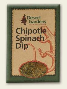 Desert Gardens Chipotle Spinach Dip Mix - The Condimented Pantry