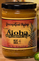 Deception Salsa-Aloha-Pineapple-Salsa-Award-winning