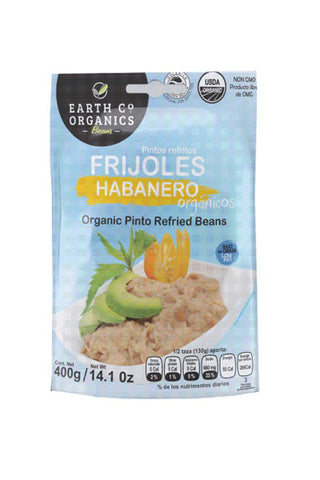 Earth Co Organics Refried Beans - Habanero - The Condimented Pantry