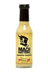 Mad Hatter Habanero Pineapple Hot Sauce Original - The Condimented Pantry