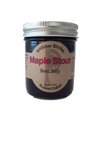 Potlicker Kitchen Maple Stout Jelly - The Condimented Pantry