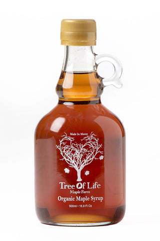 Tree of Life Organic Dark Maple Syrup - The Condimented Pantry