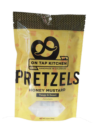On Tap Kitchen Honey Mustard Pretzels - The Condimented Pantry