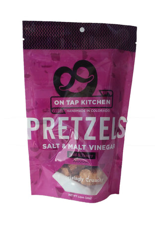 On Tap Kitchens Slat & Malt Vinegar Pretzel Pieces