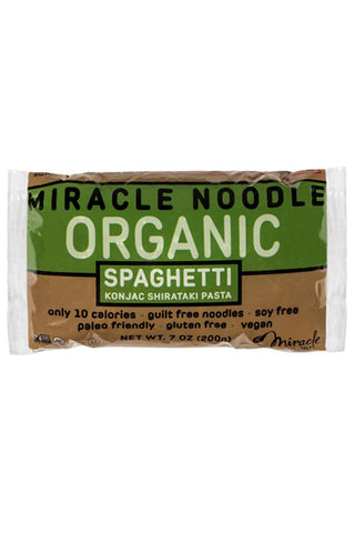 Miracle Noodle Organic Spaghetti - The Condimented Pantry