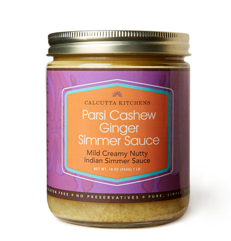 Calcutta Kitchens Parsi Cashew Ginger Simmer Sauce - The Condimented Pantry