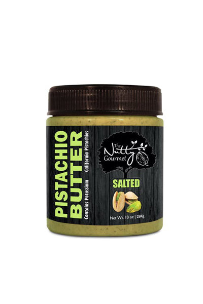 Nutty Gourmet Pistachio Butter - Salted - The Condimented Pantry
