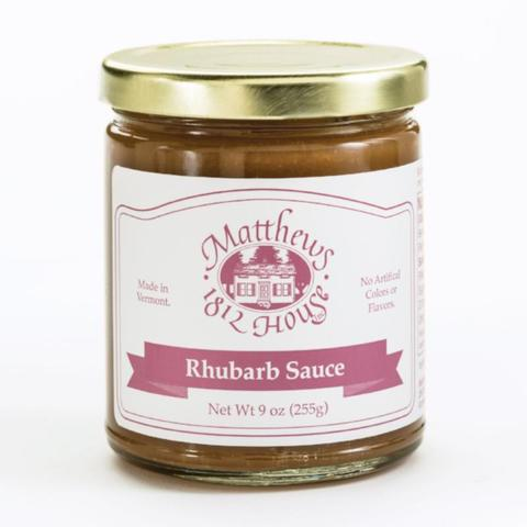 Matthews 1812 House Rhubarb Sauce - The Condimented Pantry