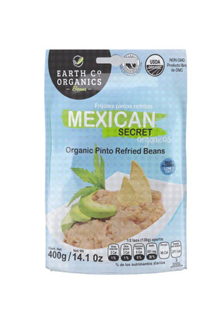 Earth Co Organics Refried Beans - Mexican Secret - The Condimented Pantry